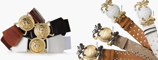 Lança Perfume coleção cintos femininos