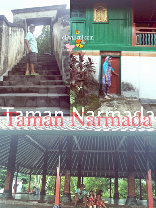 pendopo di lombok,taman narmada lombok