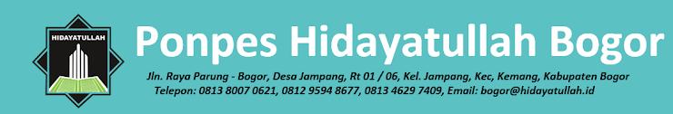 Yayasan Pondok Pesantren Hidayatullah Desa Jampang Kota Bogor
