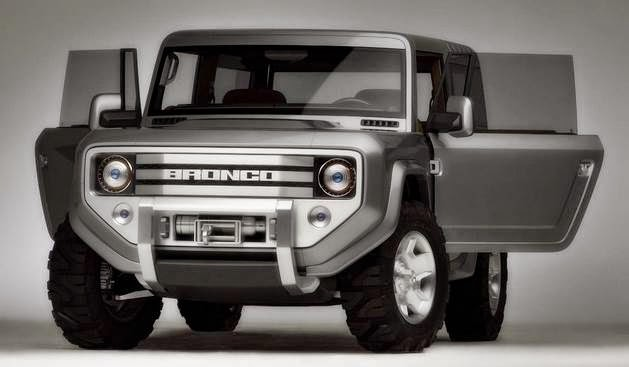 2015 Ford Bronco Concept Car
