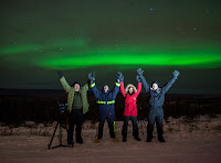 Check out the Aurora action in Fairbanks