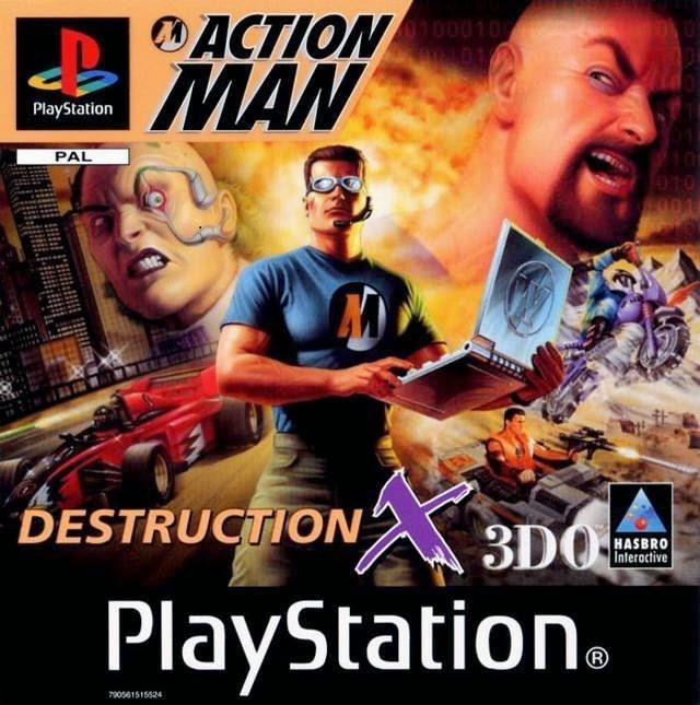Action Man - Destruction Game