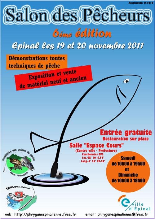 Chilte dominique peintre p cheur octobre 2011 for Salon de la peche courcelles les lens
