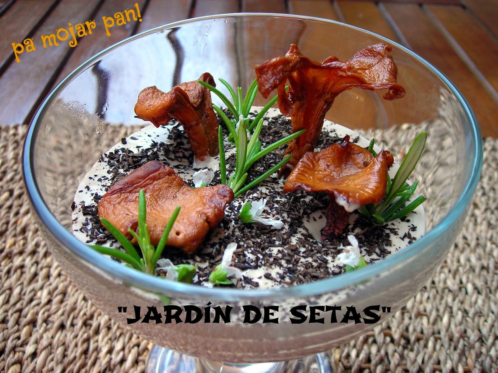 Pa mojar pan jard n de setas for Jardin de setas