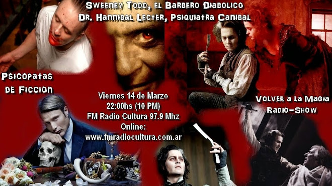Sweeney Todd vs Dr Hannibal Lecter / Psicopatas Asesinos de Ficcion Parte 1