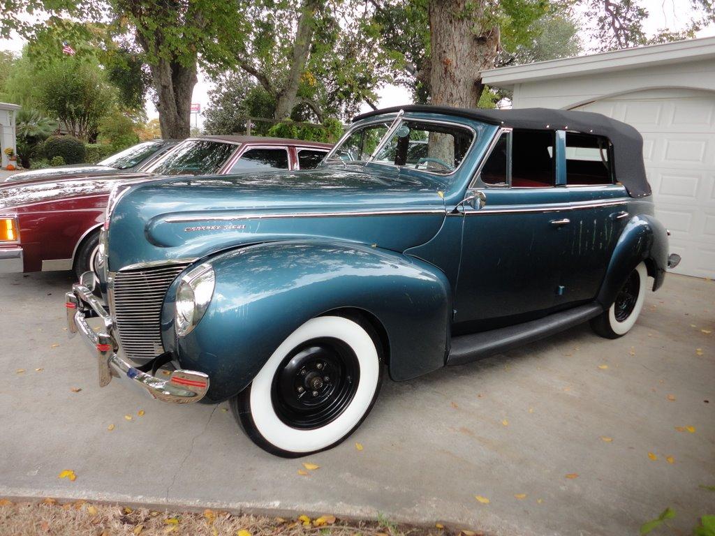 Jim 39 s little blog 1940 mercury midweek blues for 1940 mercury 4 door convertible