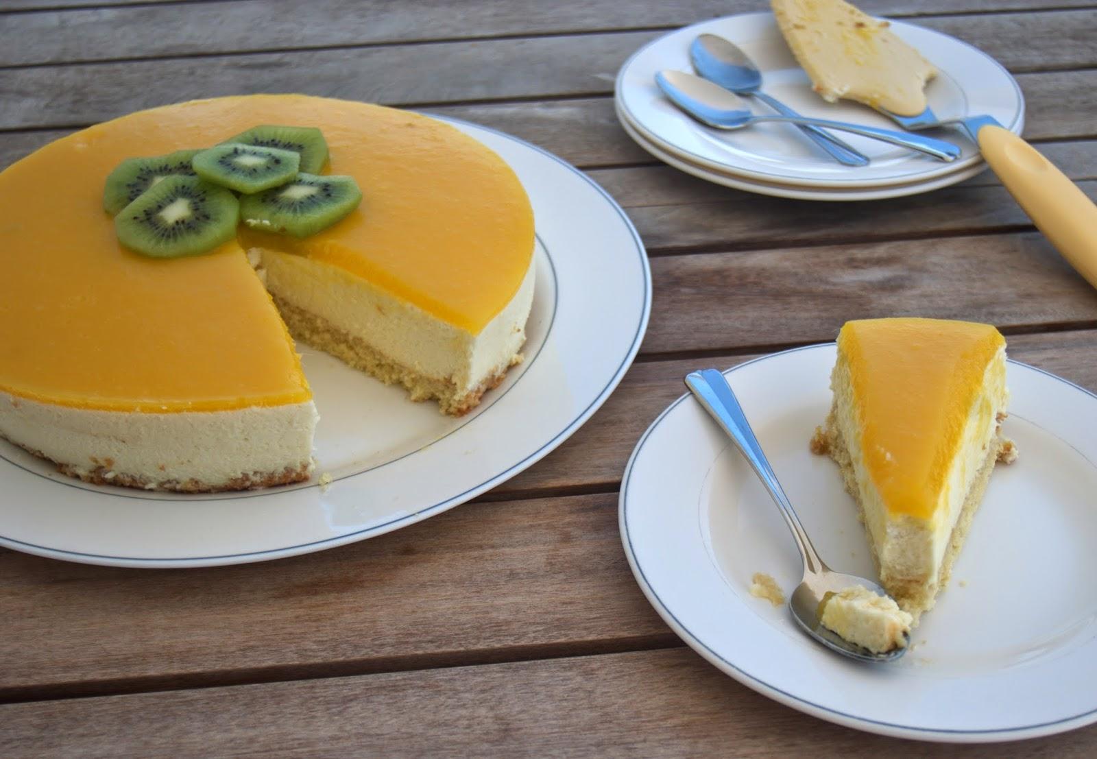 los postres de teresa tarta de mango lleg el verano