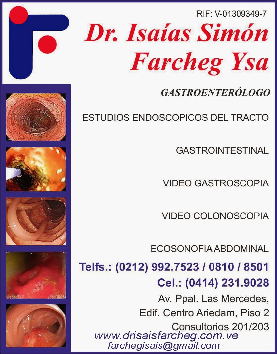 DR.ISA�AS SIM�N FARCHEG YSA en Paginas Amarillas tu guia Comercial