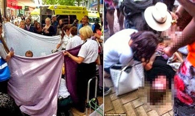Wanita Gila Bershopping Sampai Terberanak Di Kompleks Beli Belah