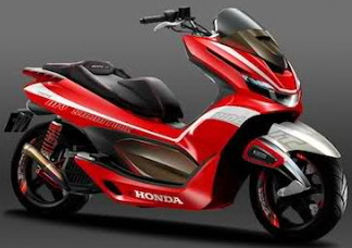 FOTO MODIFIKASI HONDA PCX 150