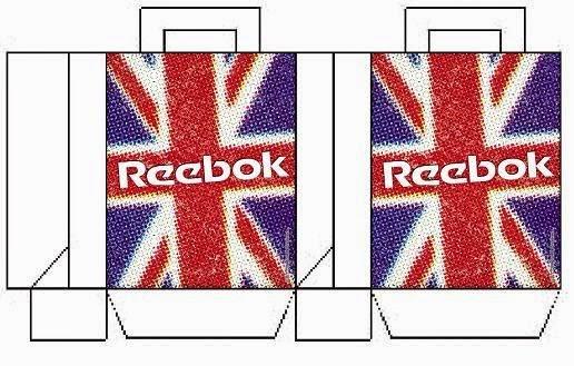 Cajita de Reebok para Imprimir Gratis.