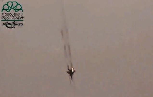 Pesawat tempur Suriah serang kota perbatasan Lebanon
