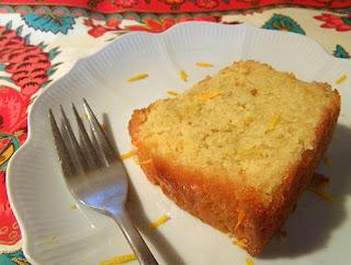 Slice of Lemon Cake