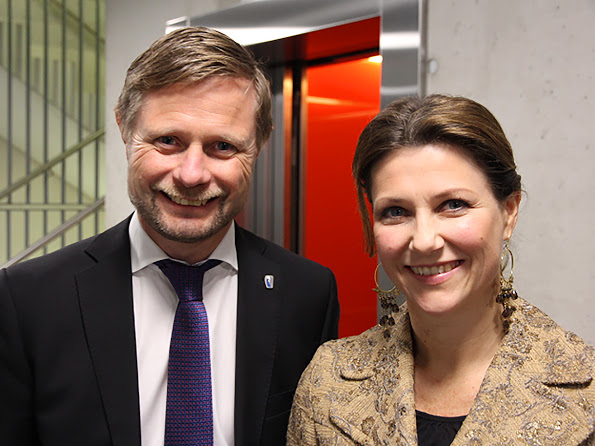 Princess Martha Louise Visited The Department Of Care Services