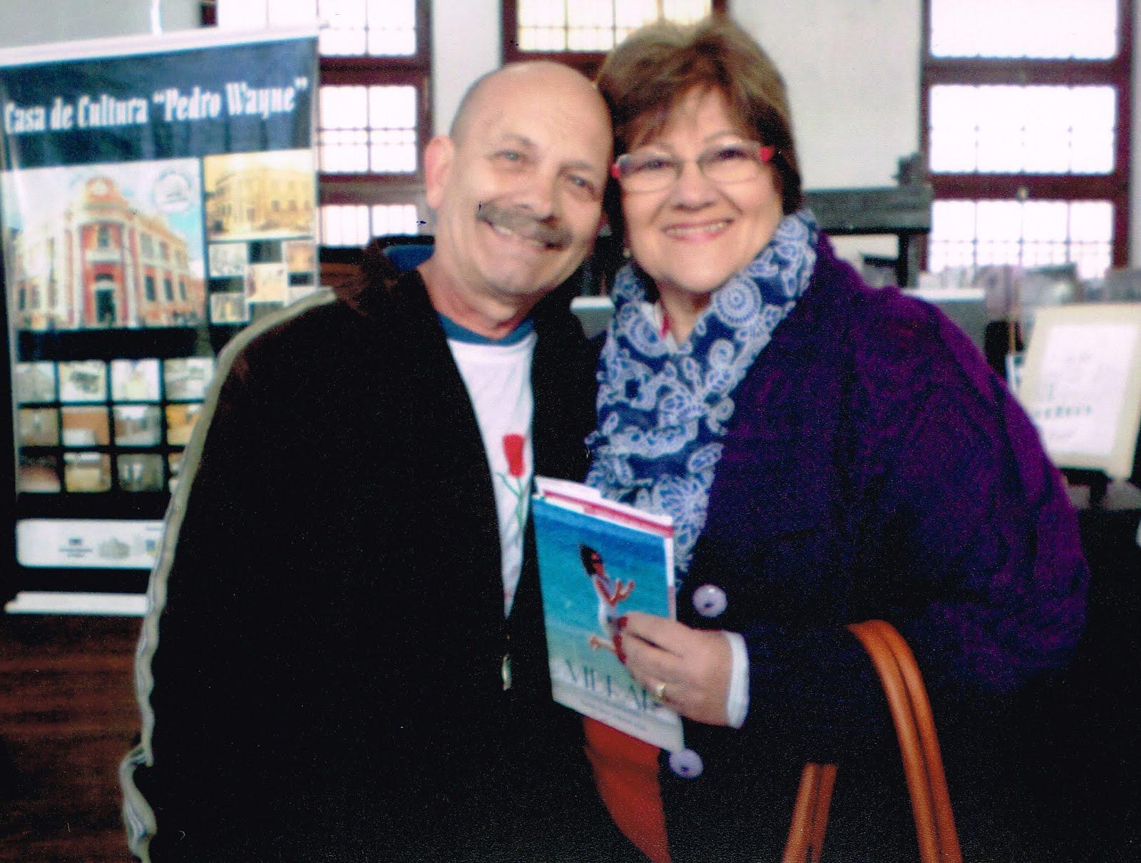 Manoel Ianzer com Elenara Nunes Ianzer