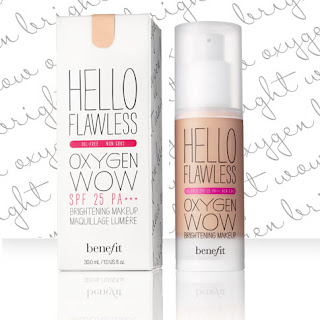 Benefit Hello Flawless Oxygen Now Foundation