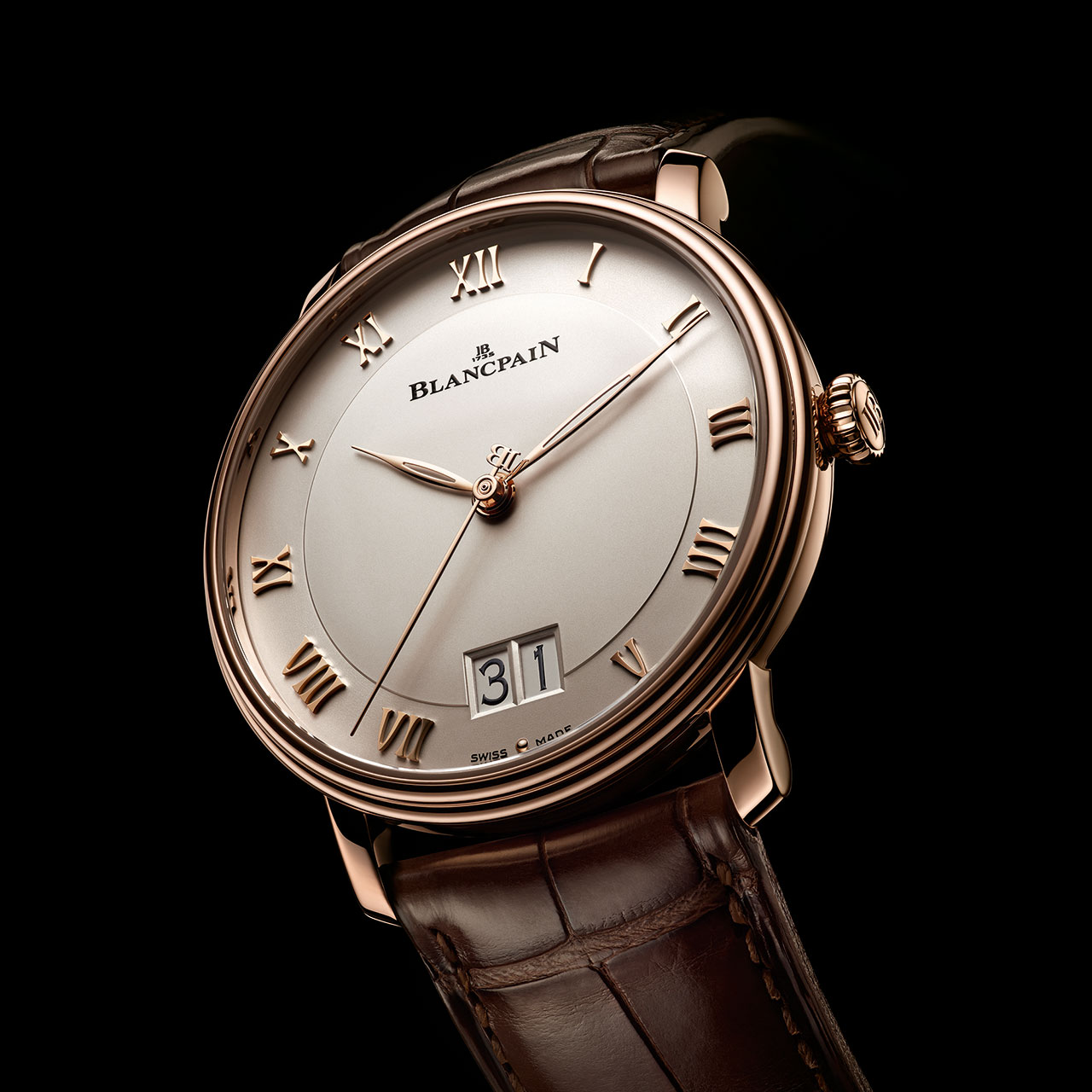 Blancpain Villeret Grande Date Mechanical Watch