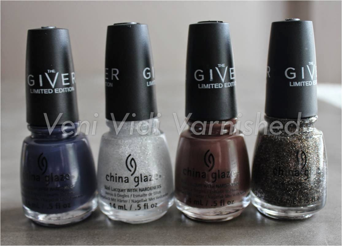 China Glaze The Giver History of the World The Outer Edge Community Boundary of Memory