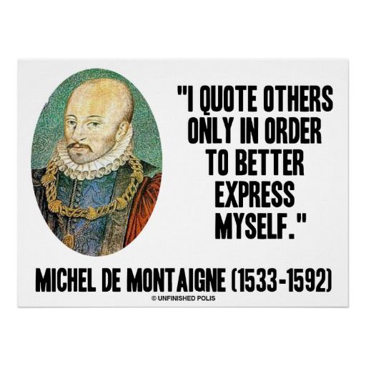 quotes about essays by montaigne