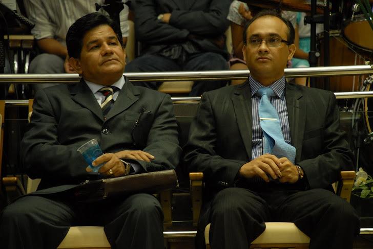 Pr. Gilmar Santos e Pr. Daniel Vieira