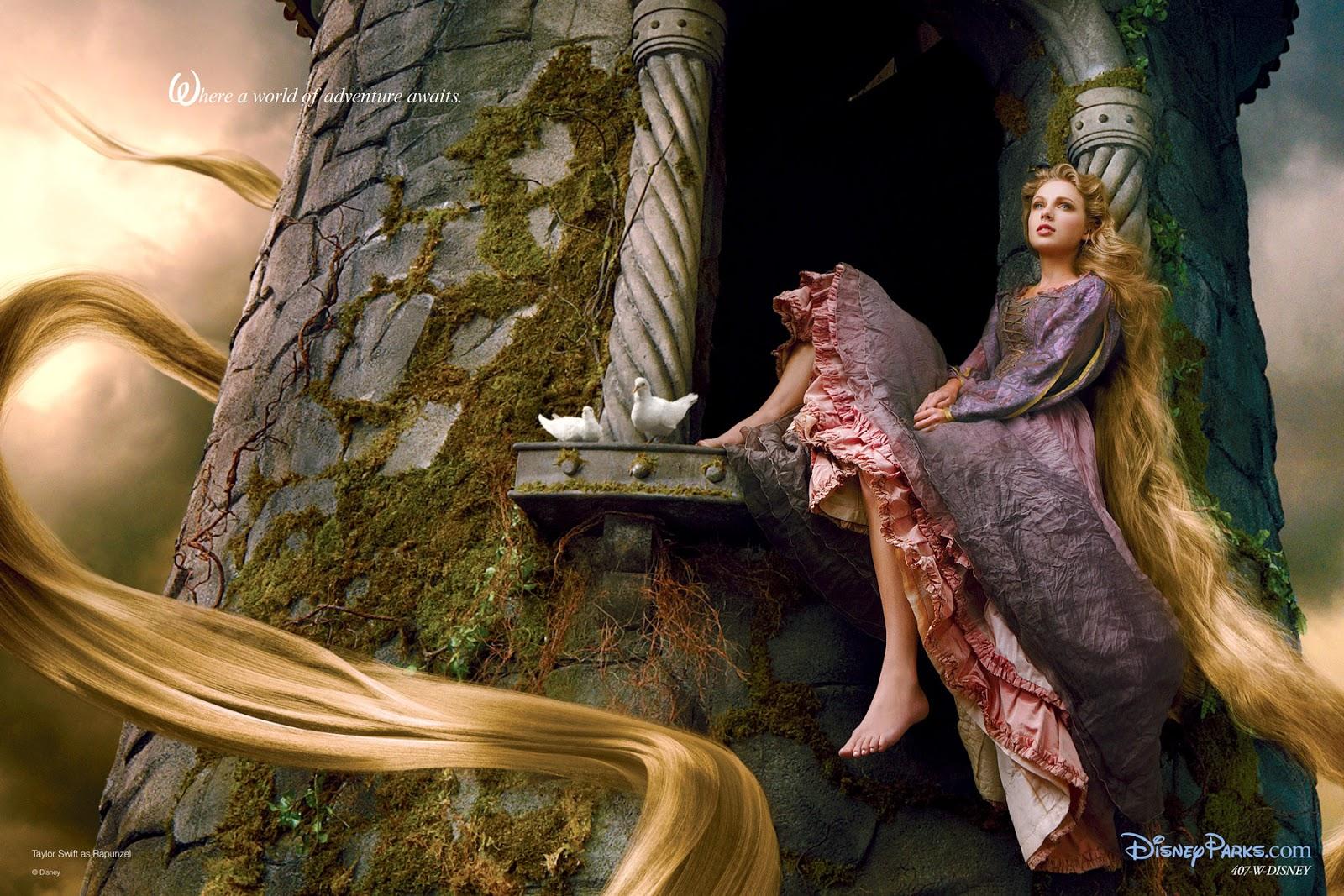 Princesas Disney: La cantante Taylor Swift se convierte en la ...
