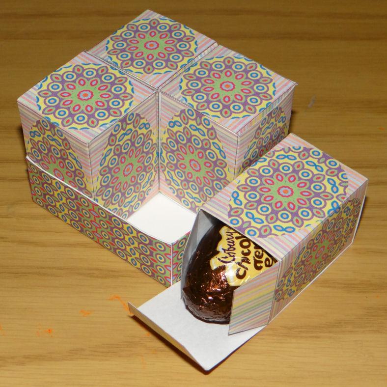 Printable box set for Cadbury Creme Eggs