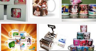 cara cetak mug digital peluang usaha mug keramik