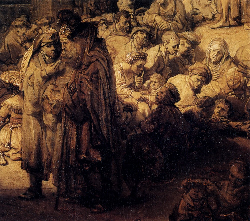 art analysis rembrandt christ preaching Art review: rembrandt and the face of jesus in christ preaching recent scholarship combined with technical analysis of the relevant portraits.