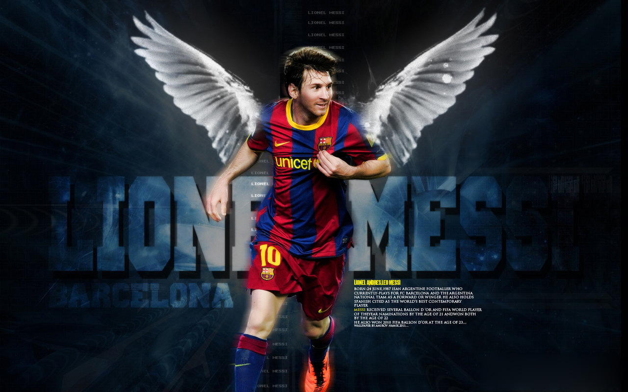 Lionel Messi Barcelona Wallpapers 2012