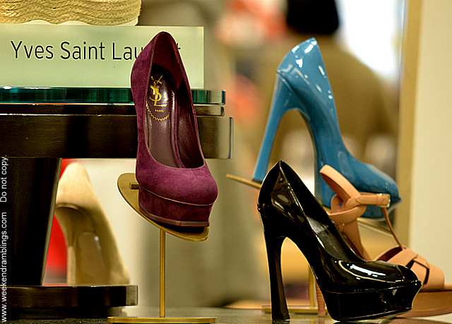 women ladies designer shoes fashion spring summer 2012 trends ysl yves saint laurent tribute platform pumps nordstrome blog