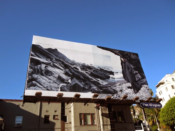 Calvin Klein Collection FW 2014 rocks billboard