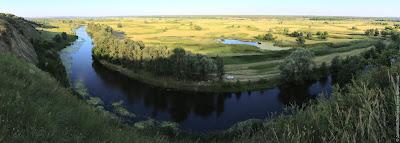Северский Донец. Панорама.