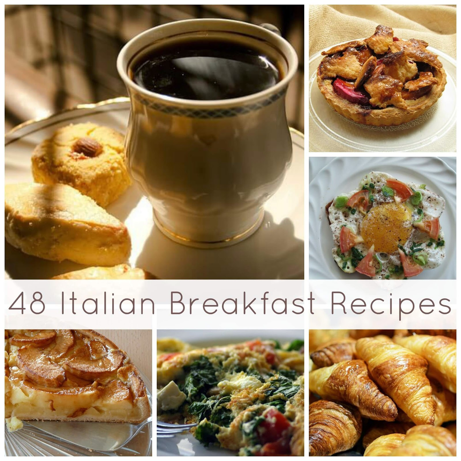 Italian Breakfast Recipes | Becky Cooks Lightly #breakfast