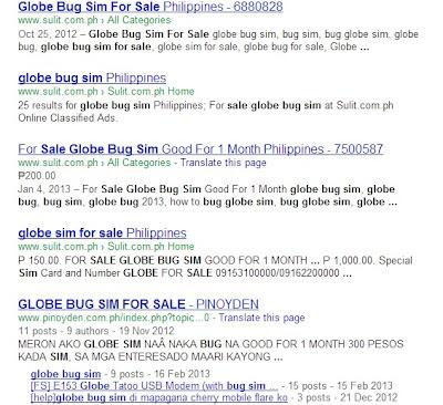 Globe Bug Sim For Sale
