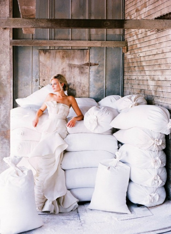 White Wedding - Magazine cover