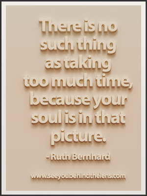 Ruth Bernhard Quote: Soul is in that picture... Via www.seeyoubehindthelens.com