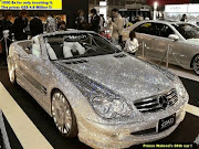 The diamond studded Mercedes Benz is owned by Saudi Prince Waleed.