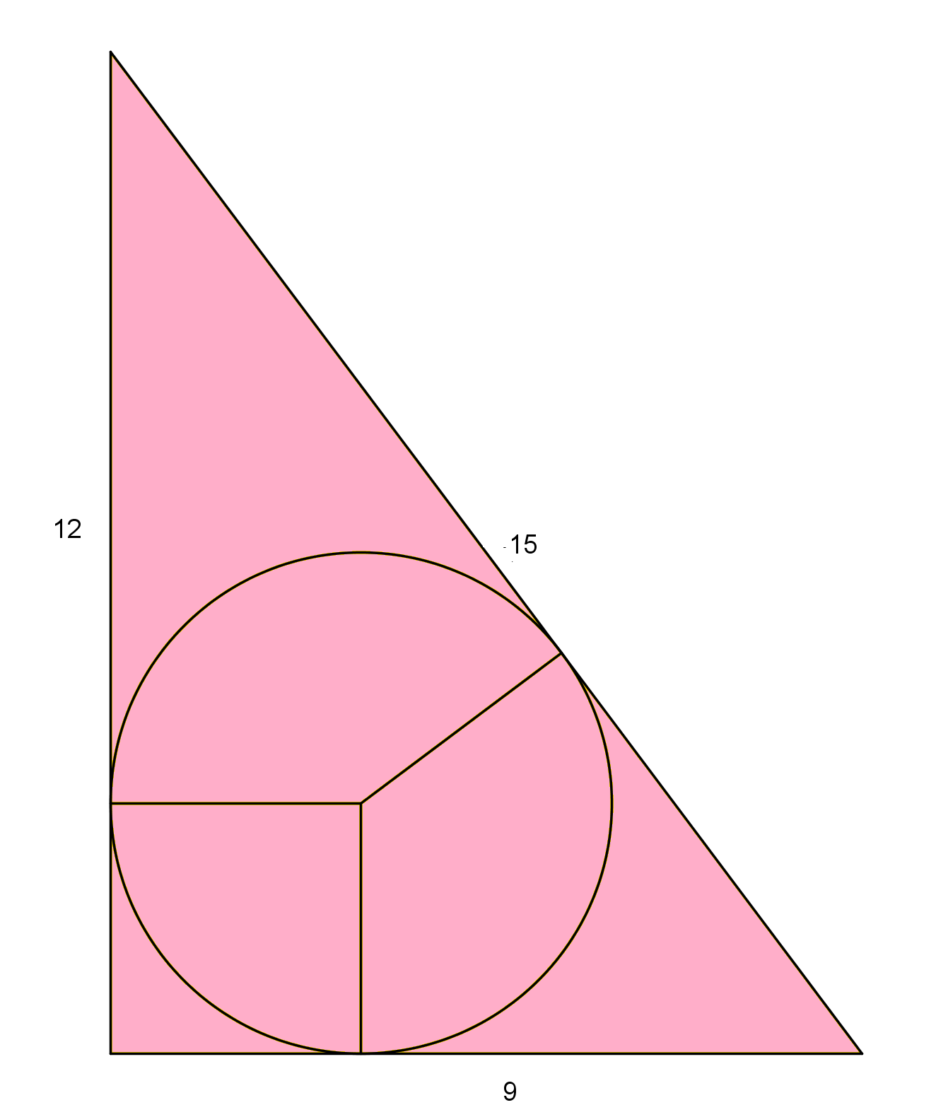 What are the angle measures of a 345 triangle  Yahoo