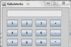 Membuat Program Kalkulator Dengan Pemrograman Java (Versi II)