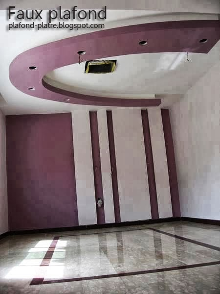 plafond avec spots lumineux designplafond. Black Bedroom Furniture Sets. Home Design Ideas