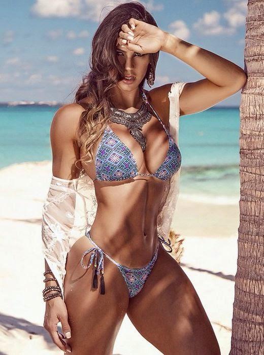 female bodybuilding bikini nude