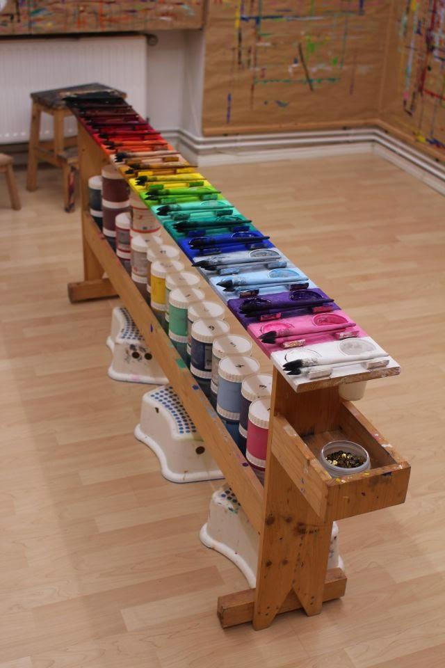 Farben im Malort