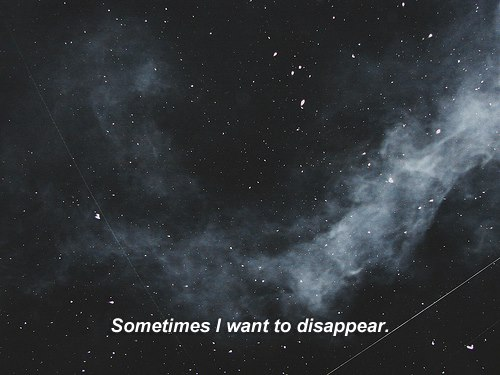 sometimes i want to