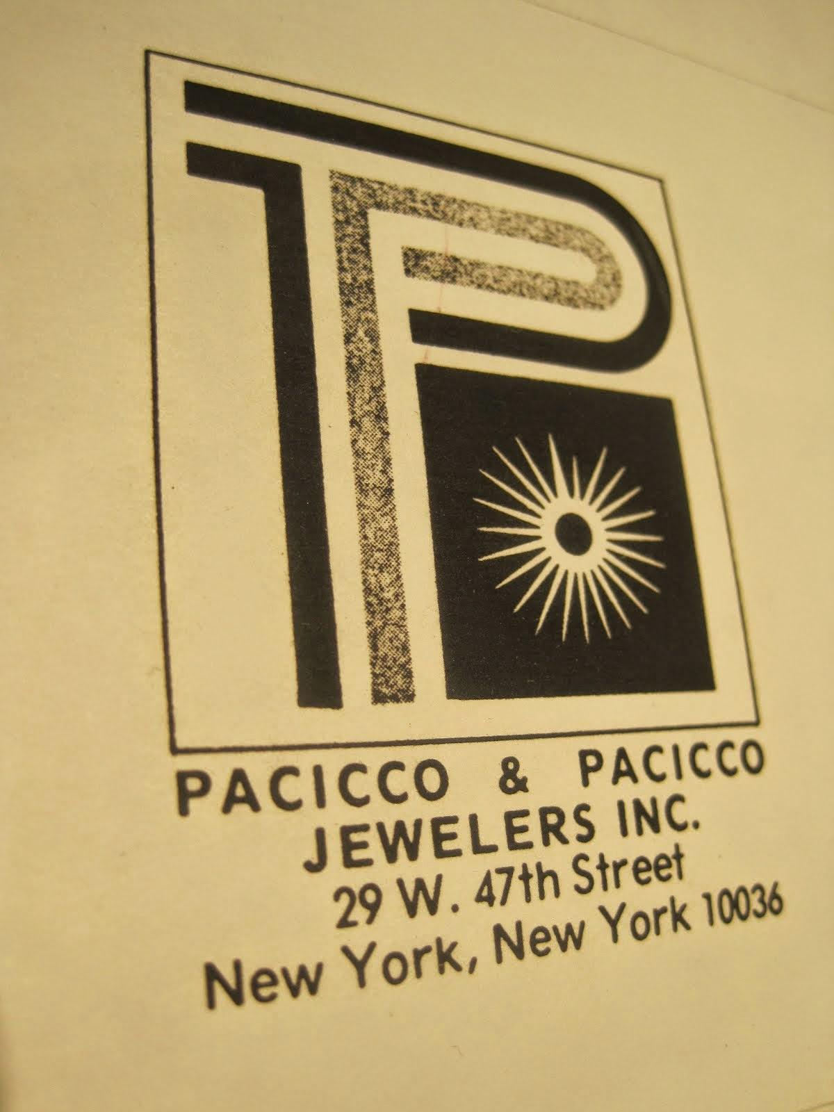 Pacicco & Pacicco Official Jewelers of Whom You Know