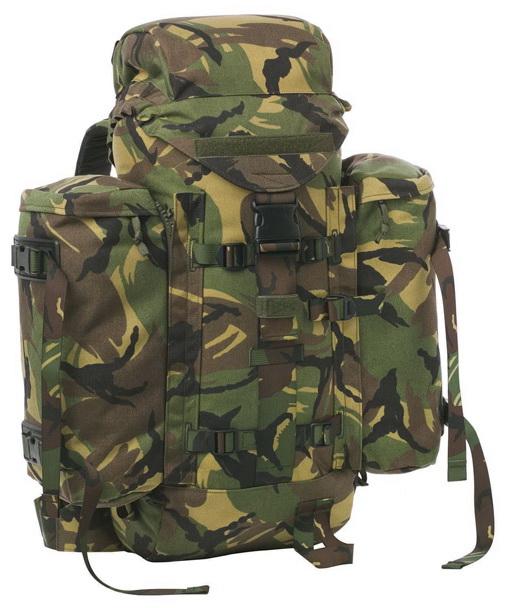 Webbingbabel Dutch Royal Army Backpack Lowe Alpine Strike