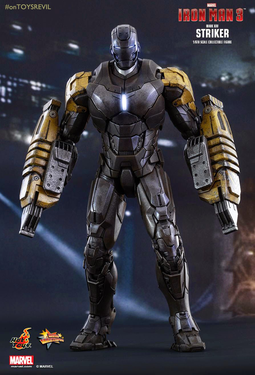#IronManFan: Iron Man 3: 1/6 STRIKER (Mark XXV) by Hot Toys