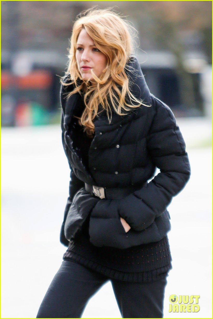 celeb diary blake lively on the set of her movie the age. Black Bedroom Furniture Sets. Home Design Ideas