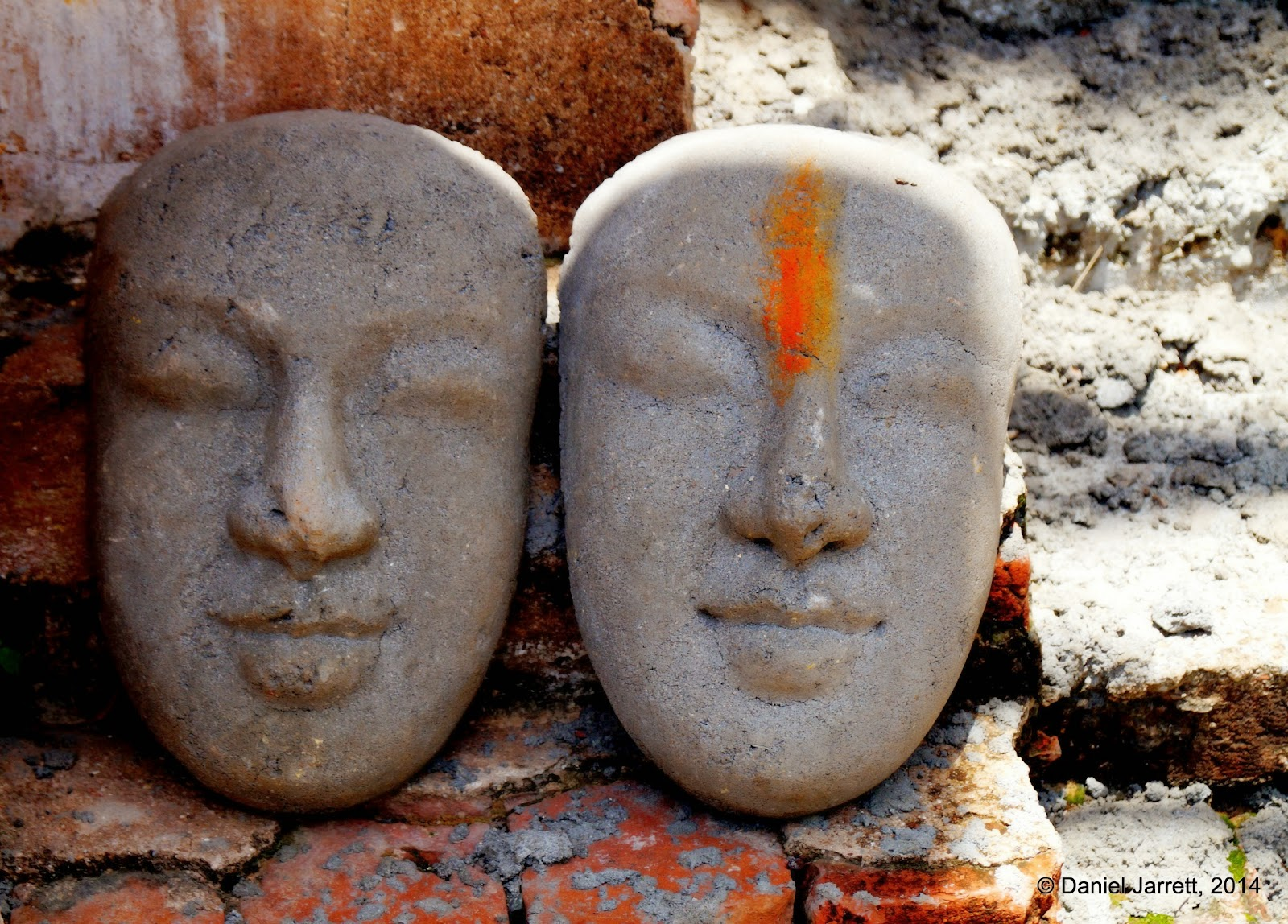 Faces, Vihear Preah Ath Roes, Phnom Oudong, Cambodia