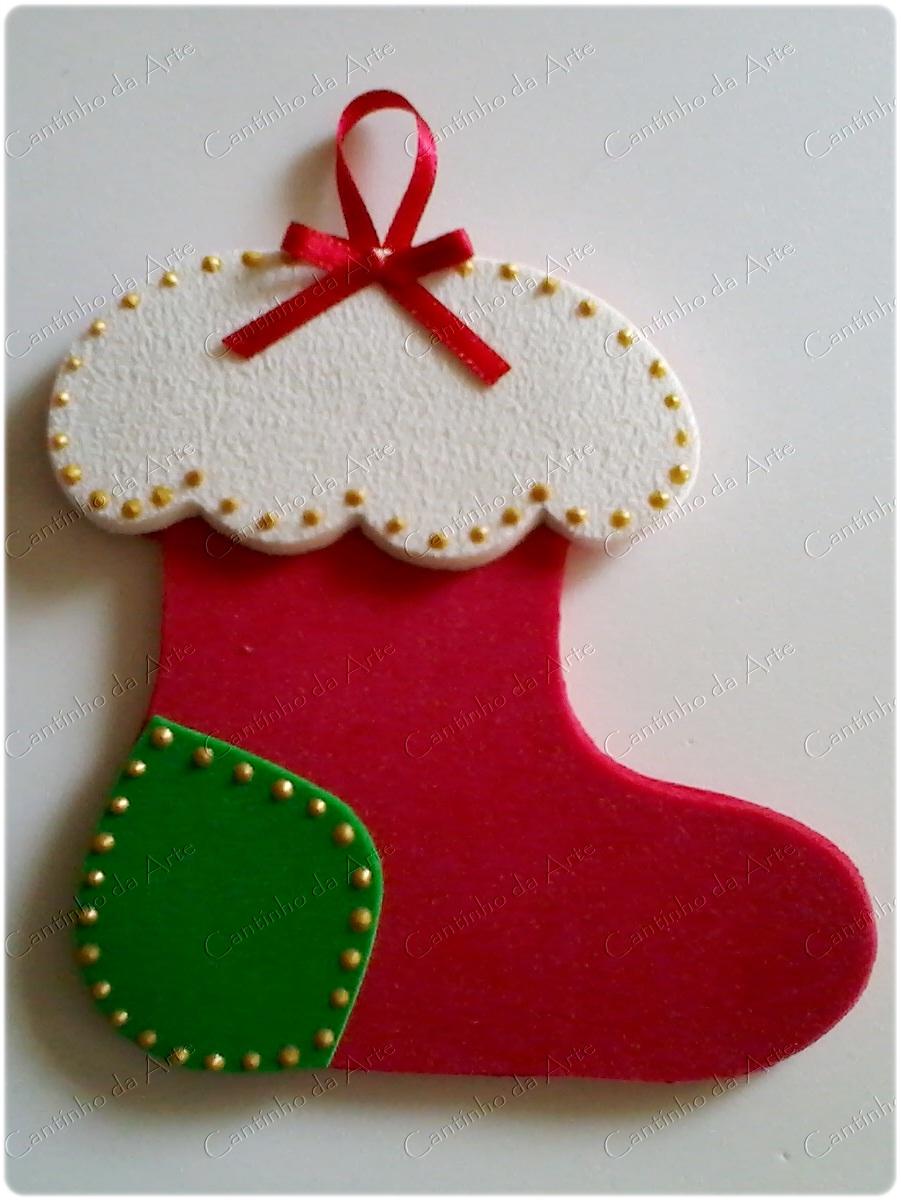 Enfeites natalinos paraárvore de Natal em EVA Artfesta Artesanatos -> Decoração Em Eva Natal