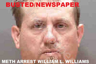 SOUTH GATE RIDGE SARASOTA FL: William L. Williams Arrested Trafficking in Meth